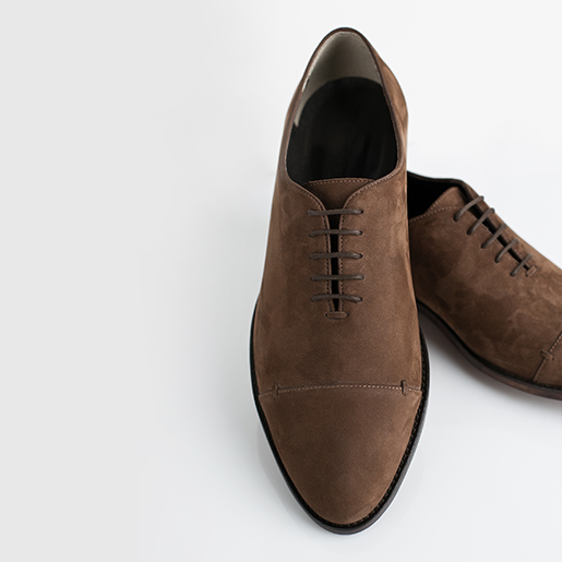 Чоловічі туфлі з нубуку