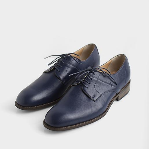 Чоловічі туфлі синього кольору