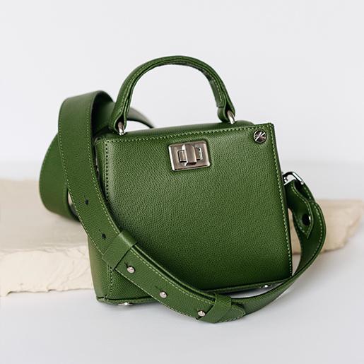 Erna micro зеленого кольору