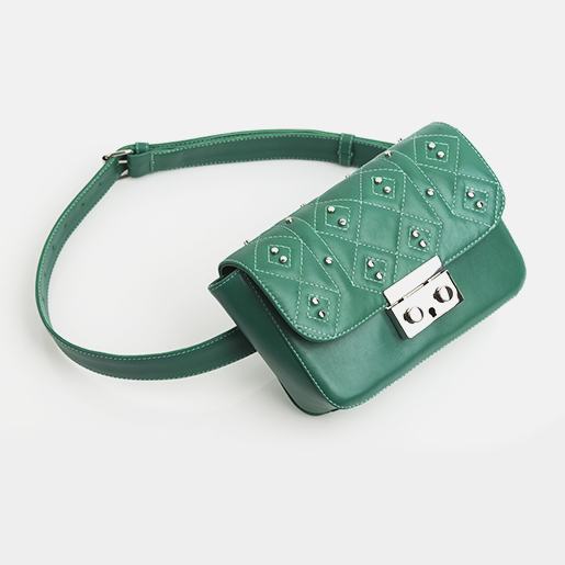 Напоясна сумка Lilu стьогана